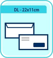 DL - 22x11cm
